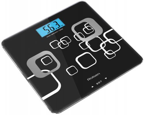 Весы напольные Rolsen RSL1807 чёрный