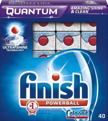 Средство для мытья посуды для посудомоечных машин Finish Quantum 40шт 3018749