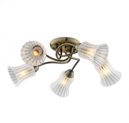 Потолочная люстра IDLamp Nanzen 245/5PF-Oldbronze idlamp idlamp 245 5pf oldbronze