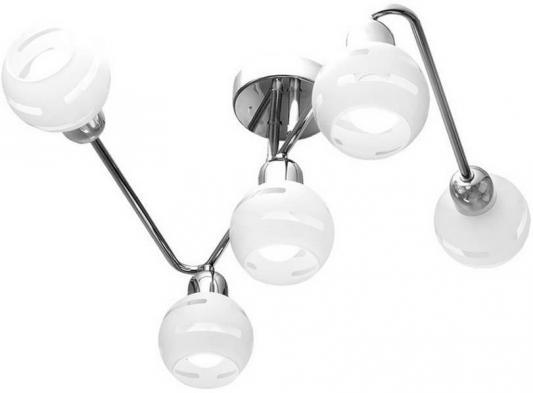 Потолочная люстра IDLamp Agostina 361/5A-Whitechrome idlamp светильник потолочный 818 8pf whitechrome