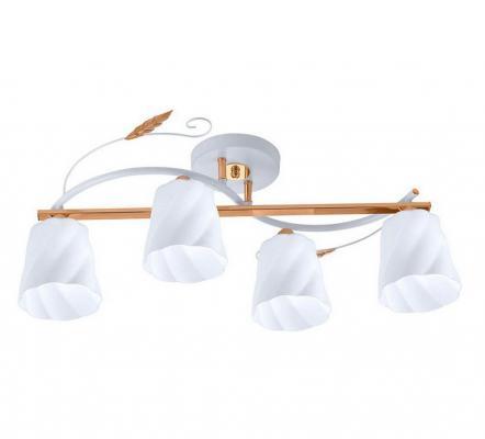 Потолочная люстра IDLamp Annelisa 380/4PF-Whitegold потолочная люстра idlamp 380 3pf whitegold