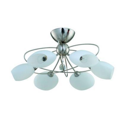 Потолочная люстра IDLamp Perlite 818/6PF-Whitechrome idlamp потолочная люстра idlamp perlite 818 8pf whitechrome
