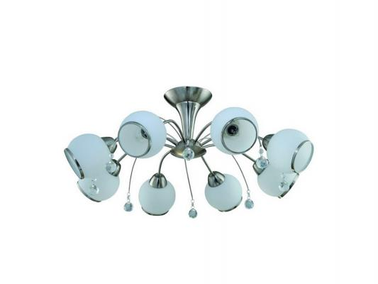 Потолочная люстра IDLamp Chiera 831/8PF-Whitechrome idlamp светильник потолочный 818 8pf whitechrome