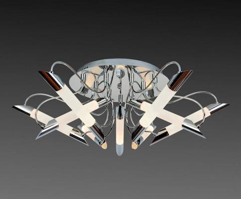 Купить Потолочная люстра IDLamp Milada 401/9PF-LEDChrome