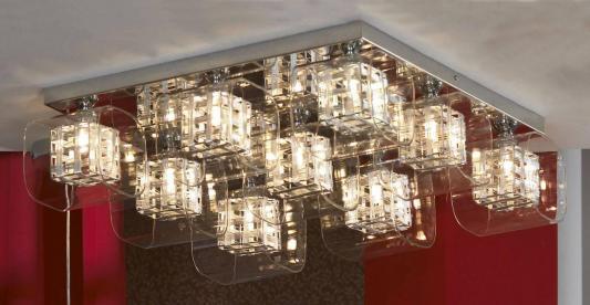 Потолочная люстра Lussole Sorso LSC-8007-09 lussole накладной светильник lussole sorso lsc 8007 09