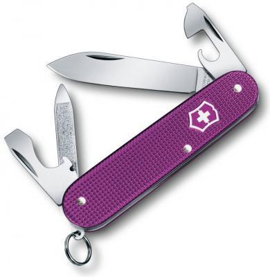Нож перочинный Victorinox Cadet Alox 0.2601.L16 9 функций 84мм