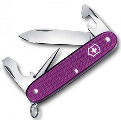 Нож перочинный Victorinox Pioneer Alox 0.8201.L16 8 функций 93мм фиолетовый