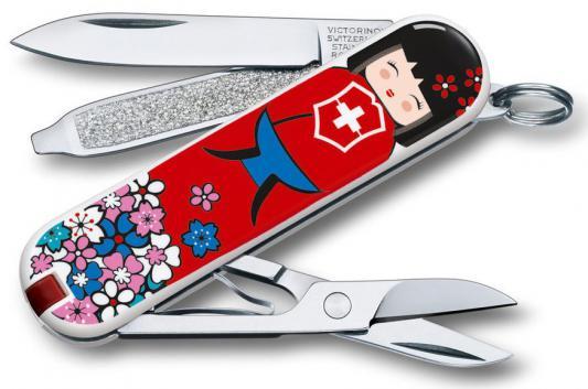 Нож перочинный Victorinox Classic LE2016 Kokeshi 0.6223.L1608 7 функций