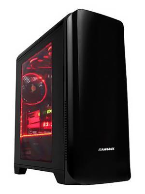 Корпус microATX GameMax H602BK Без БП чёрный цена и фото