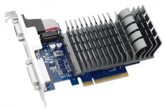 Видеокарта 1024Mb ASUS GeForce GT710 PCI-E 64bit GDDR3 DVI HDMI GT710-1-SL  Retail