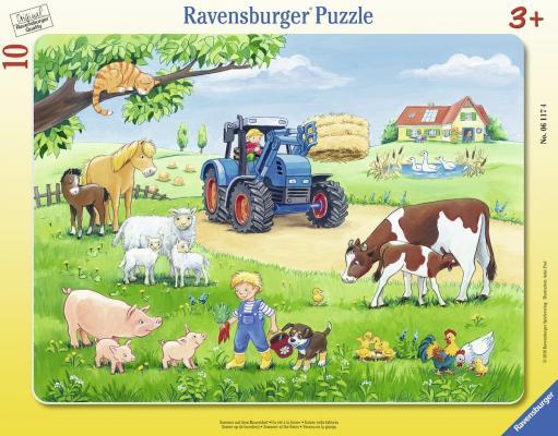 Пазл Ravensburger Лето в деревне 10 элементов 06117 как дом в деревне на мат капиталл