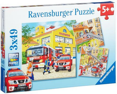 Купить Пазл Ravensburger Пожарная бригада 09401 147 элементов