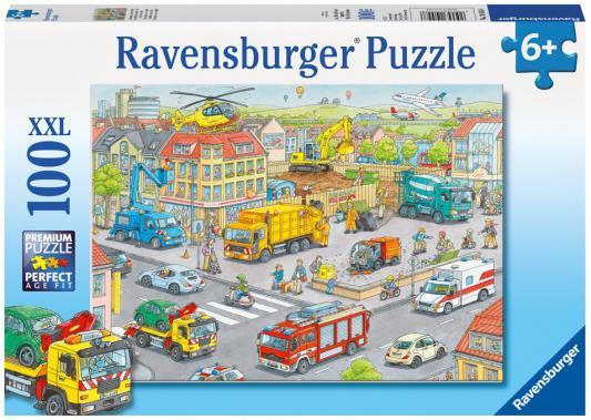Пазл Ravensburger Городской транспорт 100 элементов ravensburger 100 шт городской транспорт
