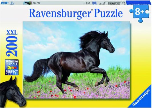 Пазл Ravensburger Прекрасная лошадь 200 элементов 12803 пазл 200 элементов ravensburger мой первый питомец 12810
