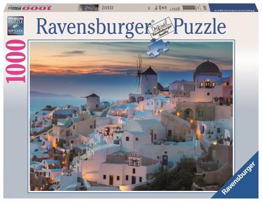 Пазл Ravensburger Вечерний Санторини 1000 элементов пазл ravensburger озеро эйб 1000 элементов