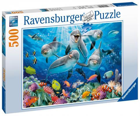 Пазл Ravensburger Дельфины 500 элементов 14710