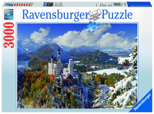 Пазл Ravensburger «Замок Нойшванштайн зимой» 3000 элементов