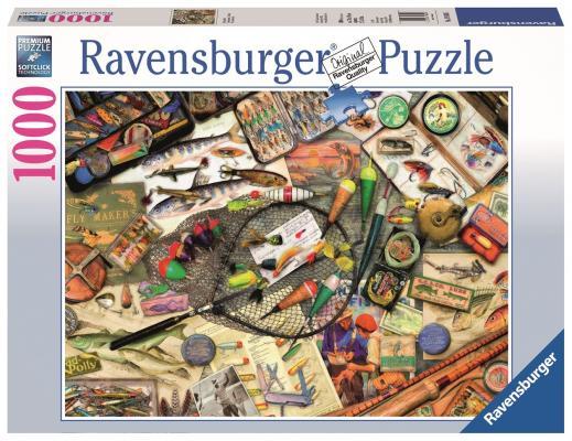 Пазл Ravensburger Коллекция рыбака 1000 элементов пазл магнитный 18 x 27 126 элементов printio кошка