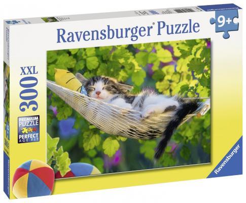 Пазл Ravensburger Кошка в гамаке 300 элементов 13204 пазл магнитный 18 x 27 126 элементов printio кошка