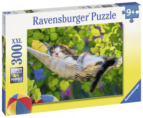 Пазл Ravensburger Кошка в гамаке 300 элементов 13204 цена