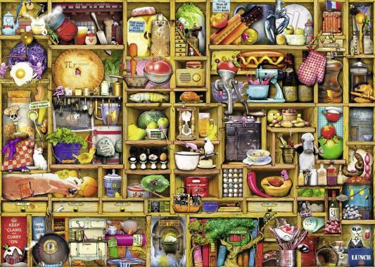 Пазл Ravensburger «Кухонный шкаф» 1000 элементов 19298