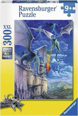 Пазл Ravensburger Огнедышащий дракон 300 элементов 13193 цена