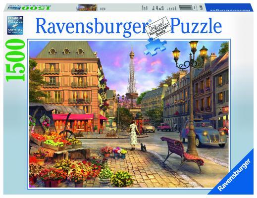 Пазл Ravensburger «Старый Париж» 1500 элементов ravensburger пазл черно белый париж