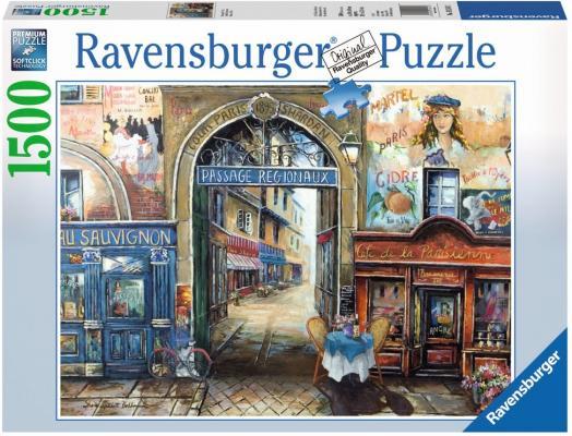 Пазл Ravensburger Улочка в Париже 1500 элементов 16241 пазл 200 элементов ravensburger мой первый питомец 12810