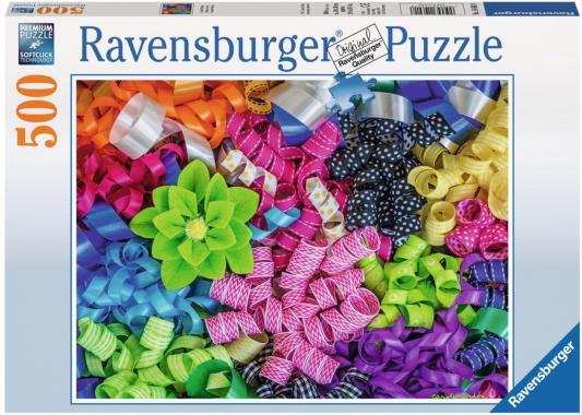 Пазл Ravensburger Цветные ленты 500 элементов 14691 ravensburger пазл цветные ленты 500 деталей