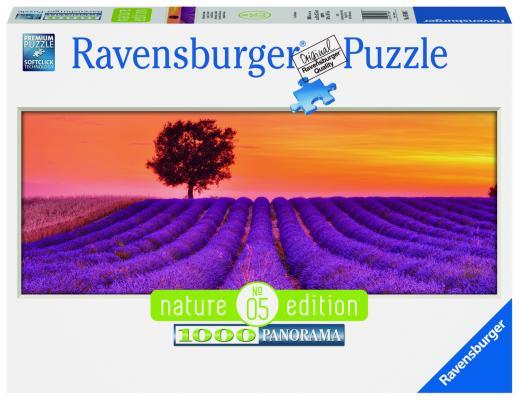 Пазл Ravensburger Лавандовые поля 1000 элементов пазлы ravensburger пазл панорамный пляжные корзинки на зюлте 1000 элементов