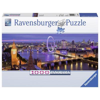 Пазл Ravensburger Ночной Лондон 1000 элементов пазл ravensburger пазл панорамный идиллия на озере 1000 шт