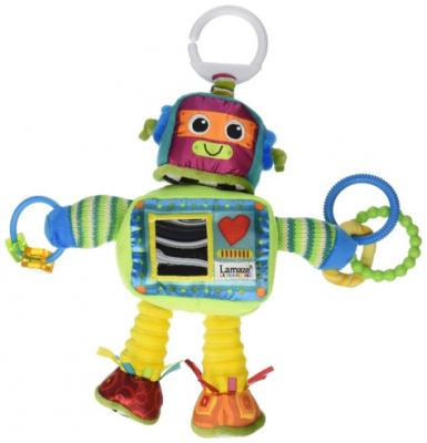 Развивающая подвесная игрушка Lamaze Робот Расти подвесная игрушка lamaze лошадка тилли