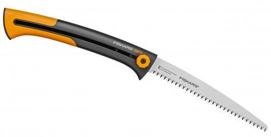Пила садовая Fiskars Xtract SW75 черный/оранжевый 123880