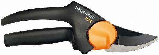 Секатор плоскостной Fiskars PowerGear P94 черный/оранжевый 111540
