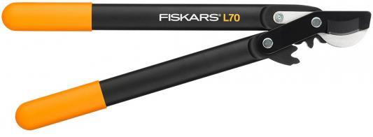 Сучкорез плоскостной Fiskars PowerGear L70 черный/оранжевый 112190