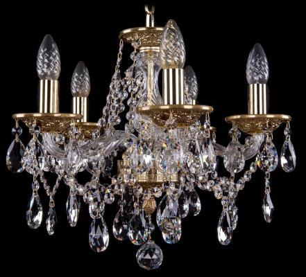 Подвесная люстра Bohemia Ivele 1613/5/141/G bohemia ivele crystal 1613 5 141 g
