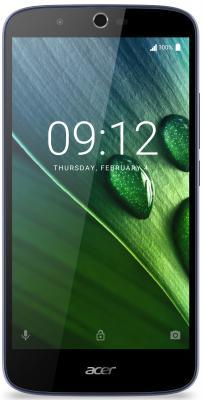 "Смартфон Acer Liquid Zest Plus Z628 синий 5.5"" 16 Гб LTE Wi-Fi GPS HM.HVNEU.002"