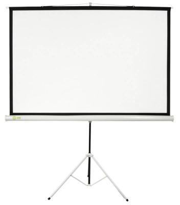 Экран напольный Cactus Triscreen CS-PST-127X127 127x127см 1:1 белый