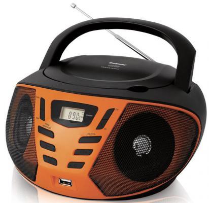 Магнитола BBK BX193U черный оранжевый