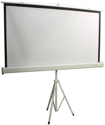 Экран напольный Cactus Triscreen CS-PST-150X150 150x150см 1:1 белый
