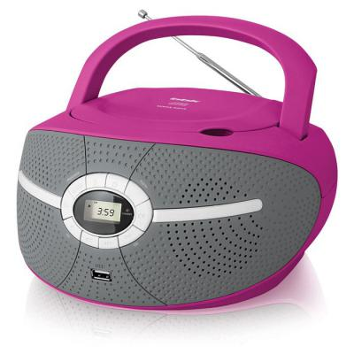 Магнитола BBK BX195U розовый bbk bx195u розовый