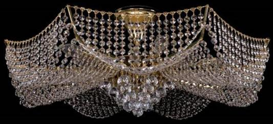Потолочная люстра Bohemia Ivele 7708/14/G потолочная люстра bohemia ivele 7708 gold арт 7708 6 g