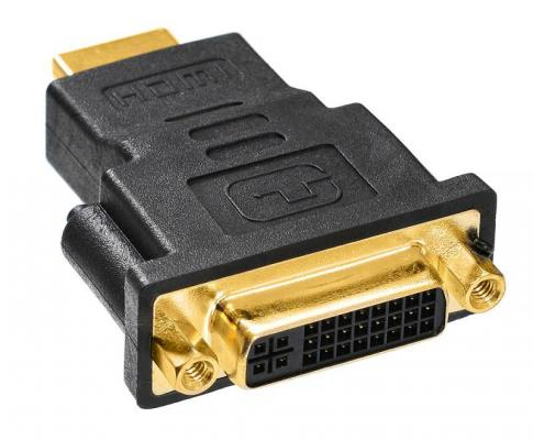 Переходник DVI(F)-HDMI(M) 359901 переходник ningbo hdmi m dvi d f позолоченные контакты черный cab nin hdmi m dvi d f