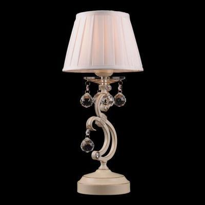 Настольная лампа Eurosvet 12075/1T белый Strotskis настольная лампа eurosvet 3419 1t золото белый strotskis