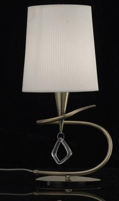 Купить Настольная лампа Mantra Mara Antique Brass 1629