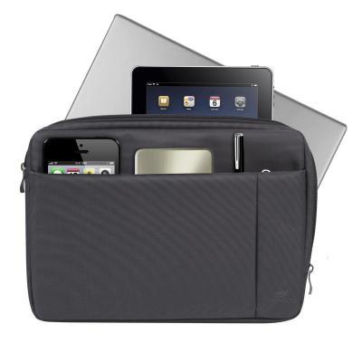 Чехол для ноутбука 13.3 Riva 8203 нейлон черный чехол riva 7202 slr для фотоаппарата черный