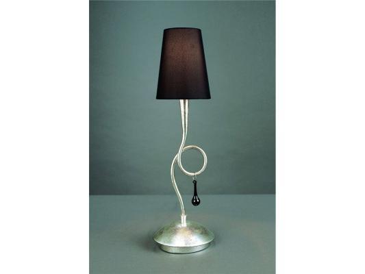 Настольная лампа Mantra Paola Painted Silver 3535