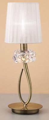 Фото - Настольная лампа Mantra Loewe 4737 настольная лампа декоративная mantra loewe 4737