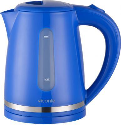 Чайник Viconte VC-3254 2200 Вт синий 2 л пластик