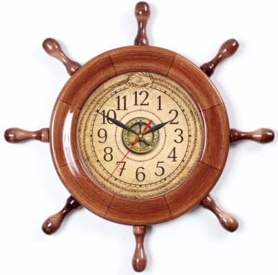 Часы настенные Вега Д7КД-4 коричневый кронштейн kromax vega 50 белый